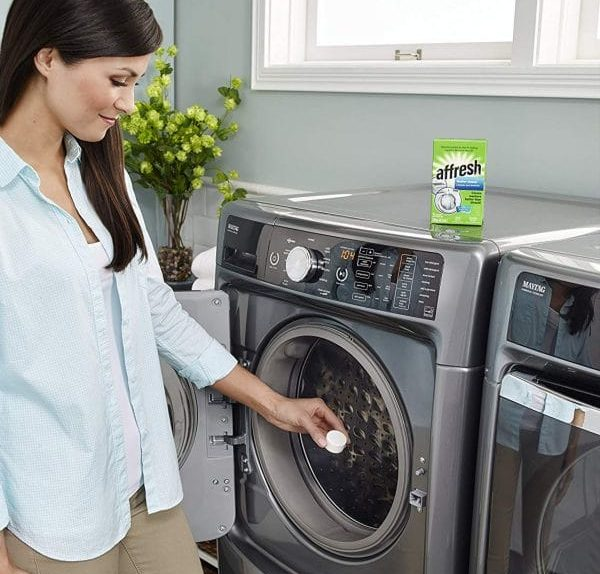 washer smells like mildew