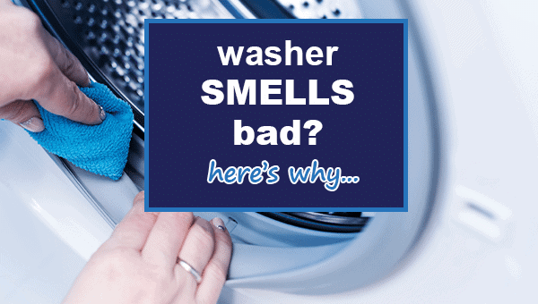 washing machine smells like mildew