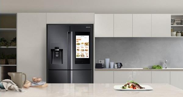 Samsung refrigerator door won't close
