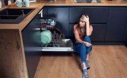 dishwasher doesn't drain