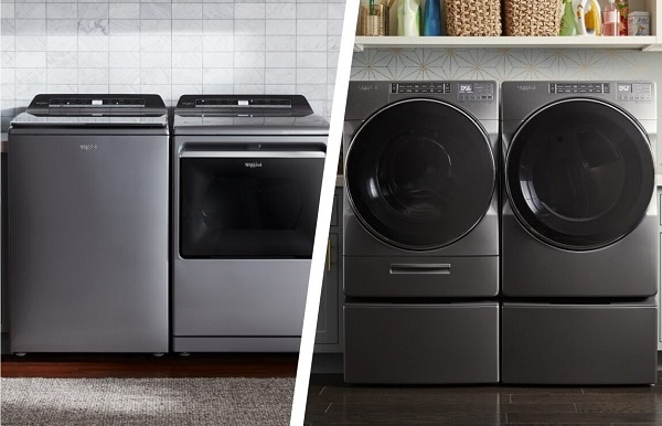 which is the best top loading or front loading washing machine